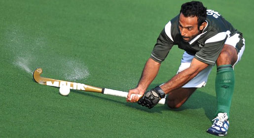 """Penalty corners are the most important aspect of modern hockey,"" says hockey's record goal-scorer Sohail Abbas. —AFP Photo"