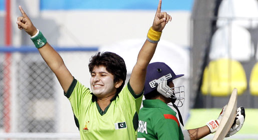 Nida Rashid's brilliant match-winning performance included four wickets and 51 runs. —AP Photo