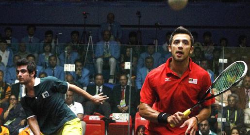 Aamir Atlas, Asian Games 2010, 2010 Asian Games, Asian Games squash, squash